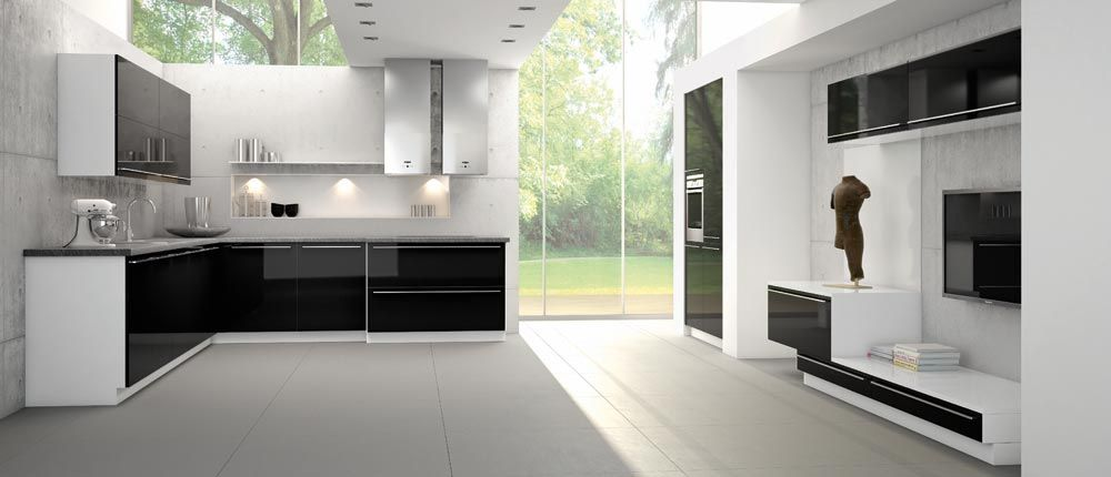 Stylish Contemporary Kitchens from Bauformat