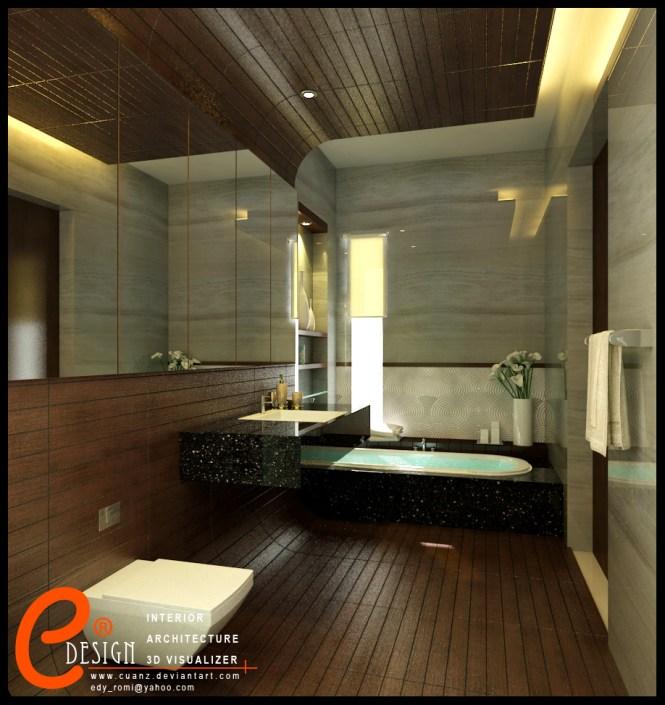 Balinese Bathroom Design