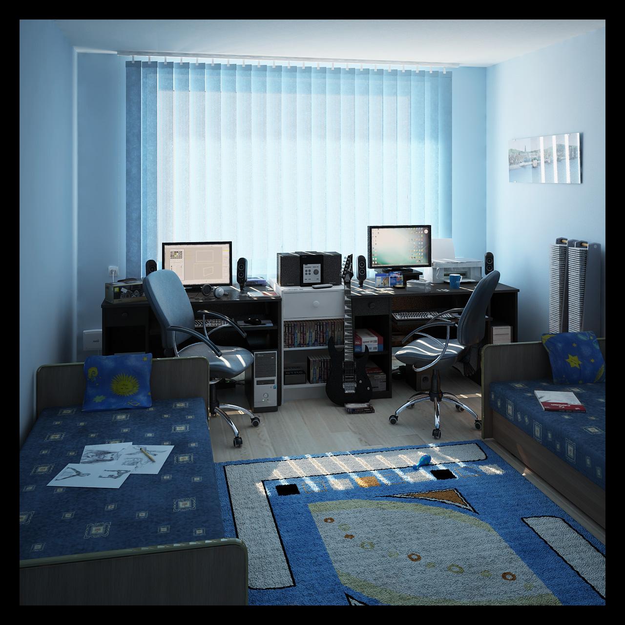 Kids Study Room Furniture