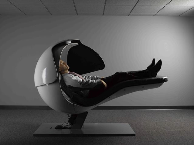 energy pod chair folding high bizarre that keeps googlers refreshed google reclining