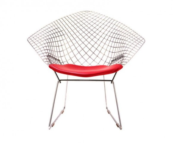 bertoia lounge chair