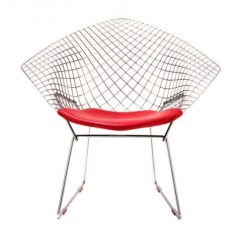 Modern Steel Chair Design Room And Board Classic Chairs Diamond A Product Of Experimental Genius By Designer Harry Bertoia Who Welded Metal Played With Different Shapes Forms