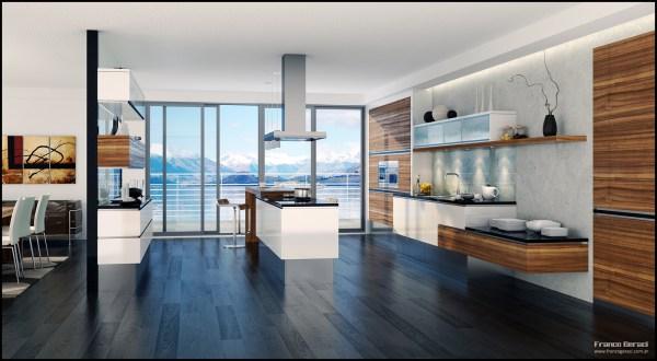 contemporary kitchen inspiration Modern Style Kitchen Designs