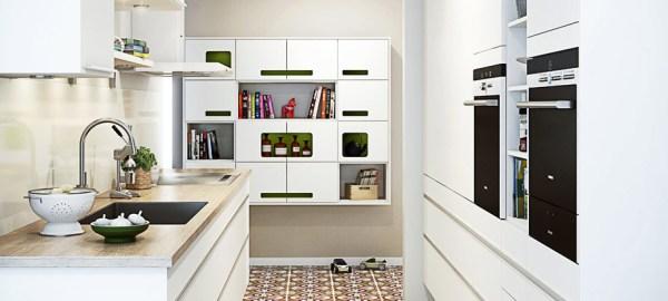 scandinavian kitchen tile designs White Kitchens