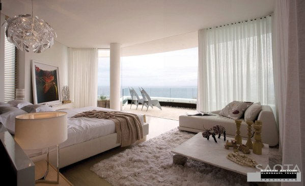 modern bedroom with ocean view 50 Luxury Oases that could tempt you into early retirement