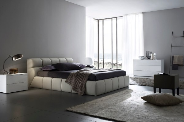 modern bedroom design ideas Bedroom Decorating Ideas from Evinco