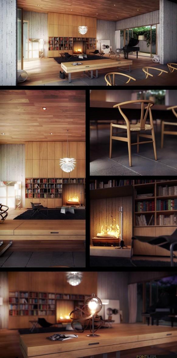modern-living-room-wood