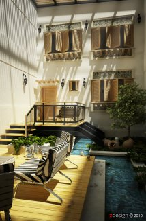 Beautiful Design Courtyard