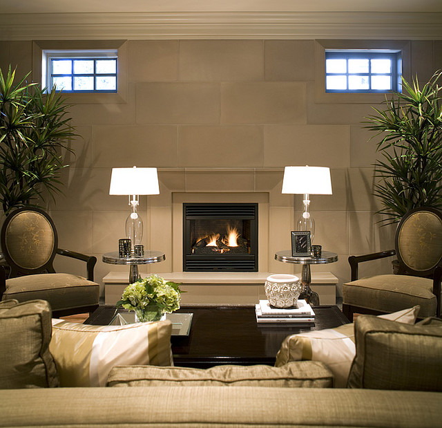 Living Room Fireplace Arrangement