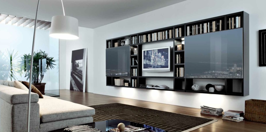 contemporary living room design styles remodeling small 18 modern style rooms from misuraemme black brown white spaces built ins