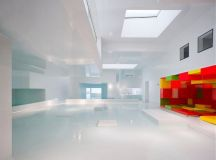 Indoor Pool Inspiration: An Aquatic Center in France