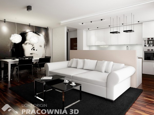 small living room ideas Cute and Groovy Small Space Apartment Designs