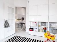 built in storage and study | Interior Design Ideas.