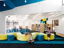 Schools with a splash of color