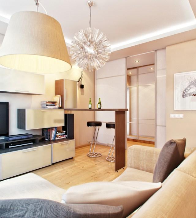 mod retro living room and kitchen | Interior Design Ideas.