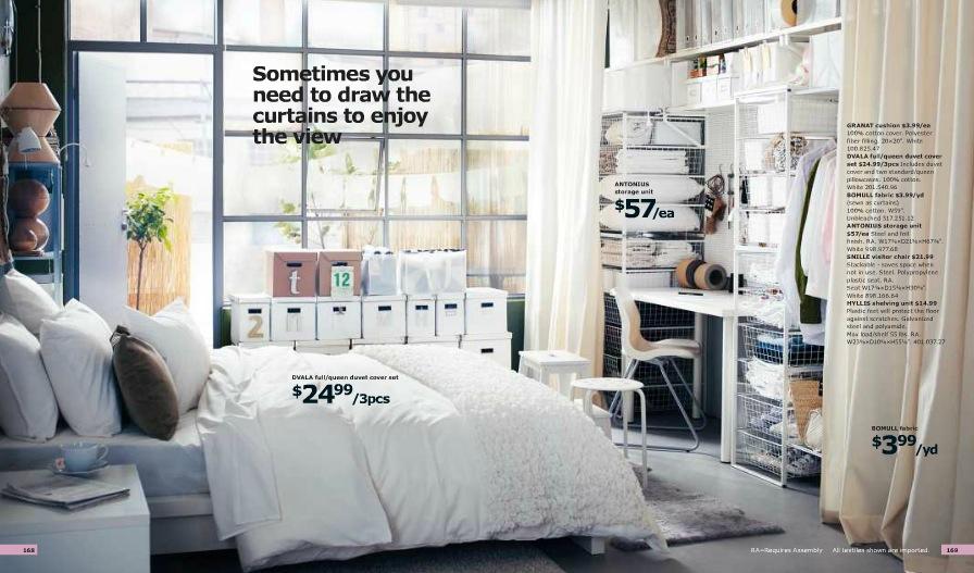 Ikea Small Bedroom With No Closet