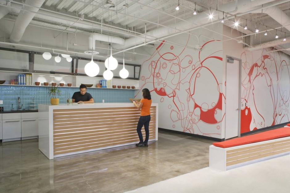 Dreamhost Office Kitchen Area