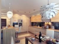 Kitchen with Ambient Lighting | Interior Design Ideas.