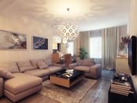 Small Warm Living Room | Interior Design Ideas.