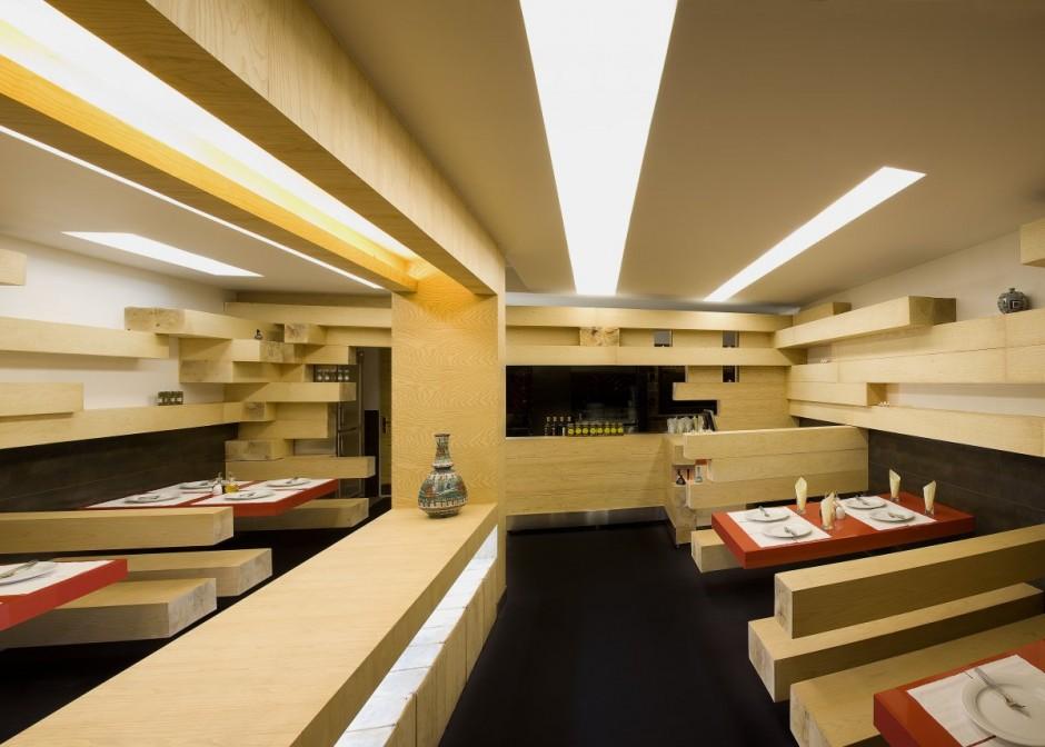 unique restaurant design  Interior Design Ideas