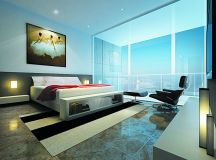 A Living Room With a Glass Panel Window | Interior Design ...