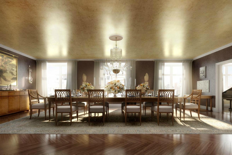 classic luxury dining room  Interior Design Ideas