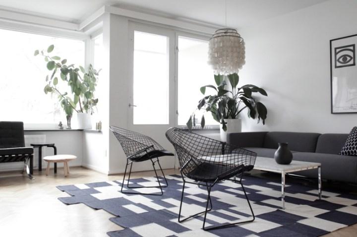 Black And White Interior Living Room | Aecagra.org