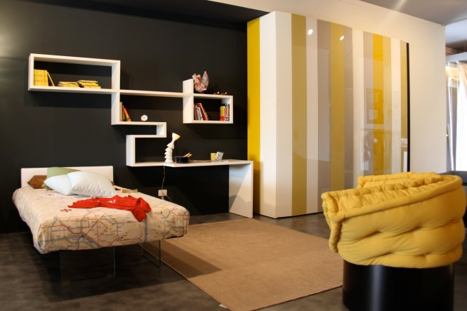 View In Gallery Soothing Modern Living Room Yellow And Gray The