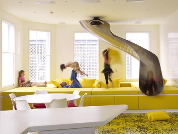 35 familyfunincolorfulLondonlivingroom  Interior Design Ideas