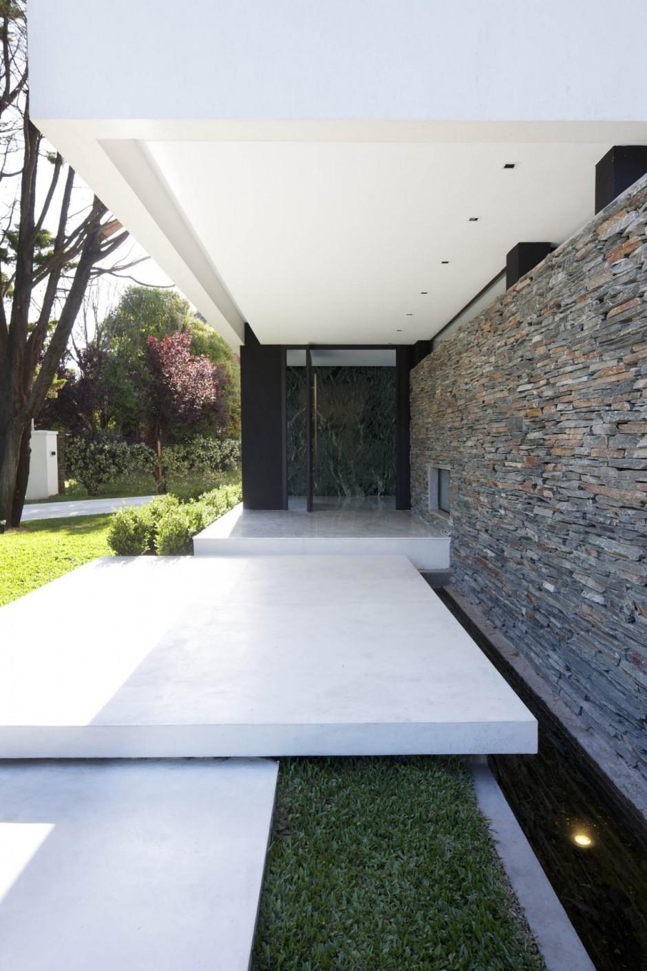 Carrara House Entrance Path Interior Design Ideas