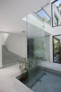 Indoor Glass Waterfall Designs