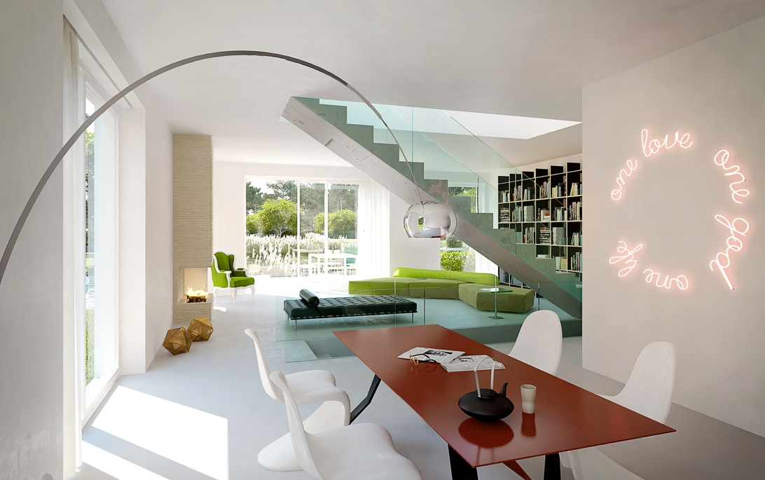 Contemporary Architecture and Interiors by Xoio
