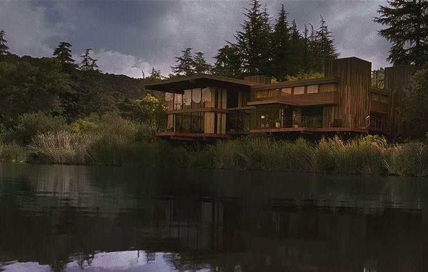 Small lakeside houses  Wallpaper Wide HD
