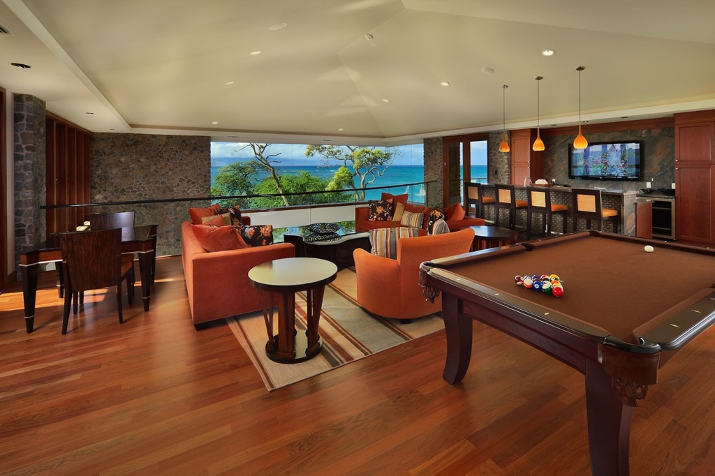 Bar codes are used to trace inventory and collect data. | Maui games room barInterior Design Ideas.
