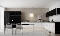 black white kitchen diner | Interior Design Ideas.