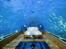 1 underwater hotel suite Conrad Maldives Rangali Islands ...