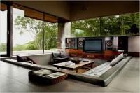 10 sunken sitting area living room   Interior Design Ideas.
