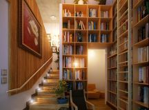 16 stair led home library | Interior Design Ideas.
