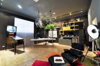 2 bright modern quirky decor home office | Interior Design ...