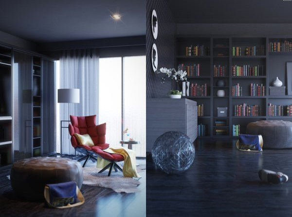 Home Library Interior Design Ideas
