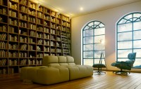 7 sophisticated modern home library | Interior Design Ideas.