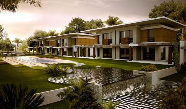 contemporary exteriors in nature