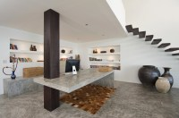 Floating staircase modern study | Interior Design Ideas.
