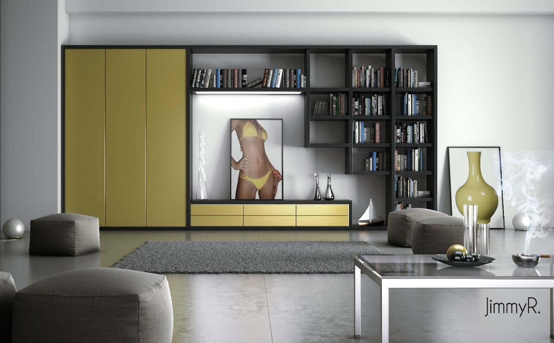 yellow chairs for living room best rugs uk white furniture interior design ideas
