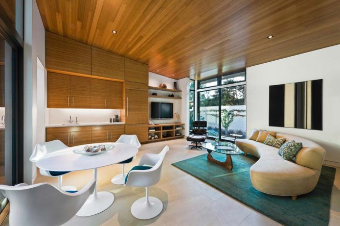 neutral living room dining room