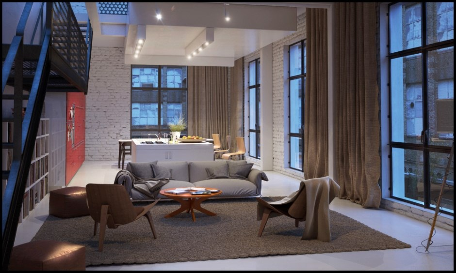 Chilled Out Contemporary Living Rooms