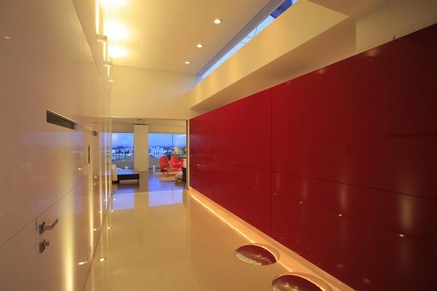 Red White Hallway Design Ideas Interior Design Ideas