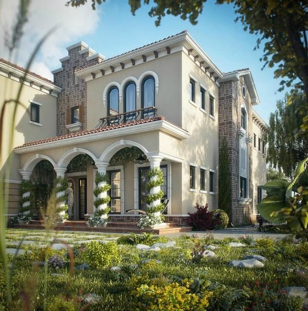 Dreamy Spaces Rendered Muhammad Taher
