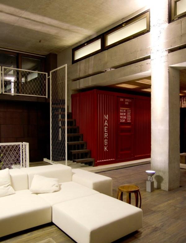 Industrial Loft Apartment Designs