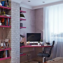 Hot Pink Office Chair Anime Bean Bag Terrific Young Teenager 39s Rooms